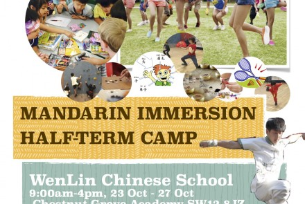 Mandarin Activity Camp - October Half Term